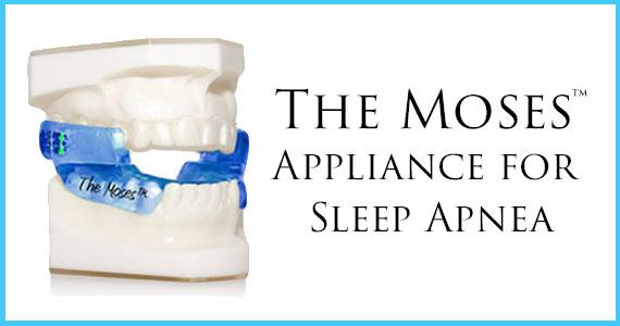 Moses appliance for sleep apnea